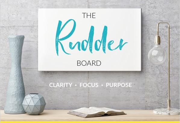 rudder board clarity coaching tool