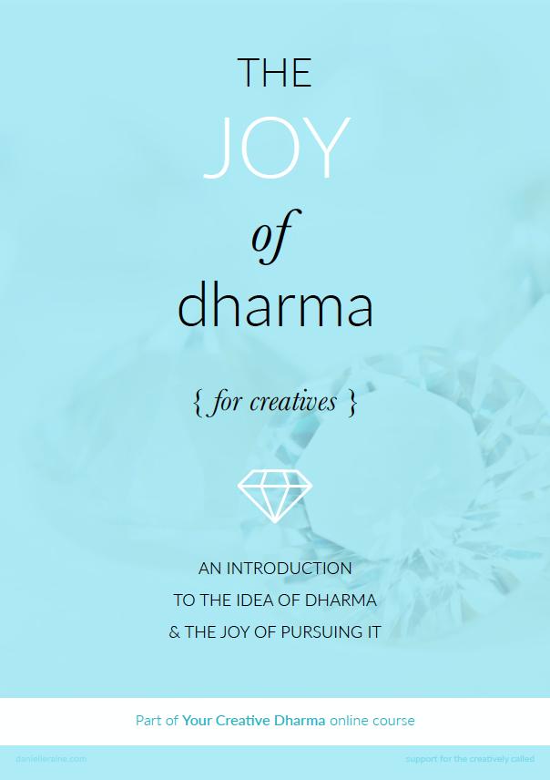 joy-of-dharma-introduction-cover-creative-dharma-course