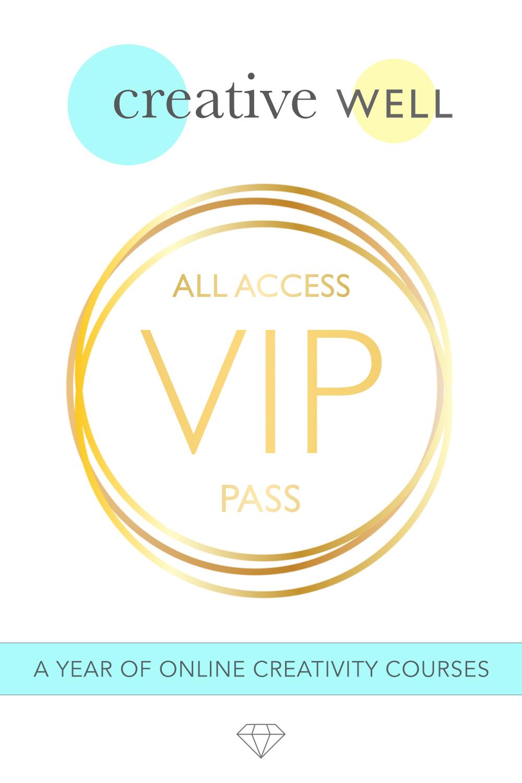 creative well all access vip pass