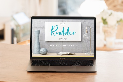 the rudder board online course laptop table copy
